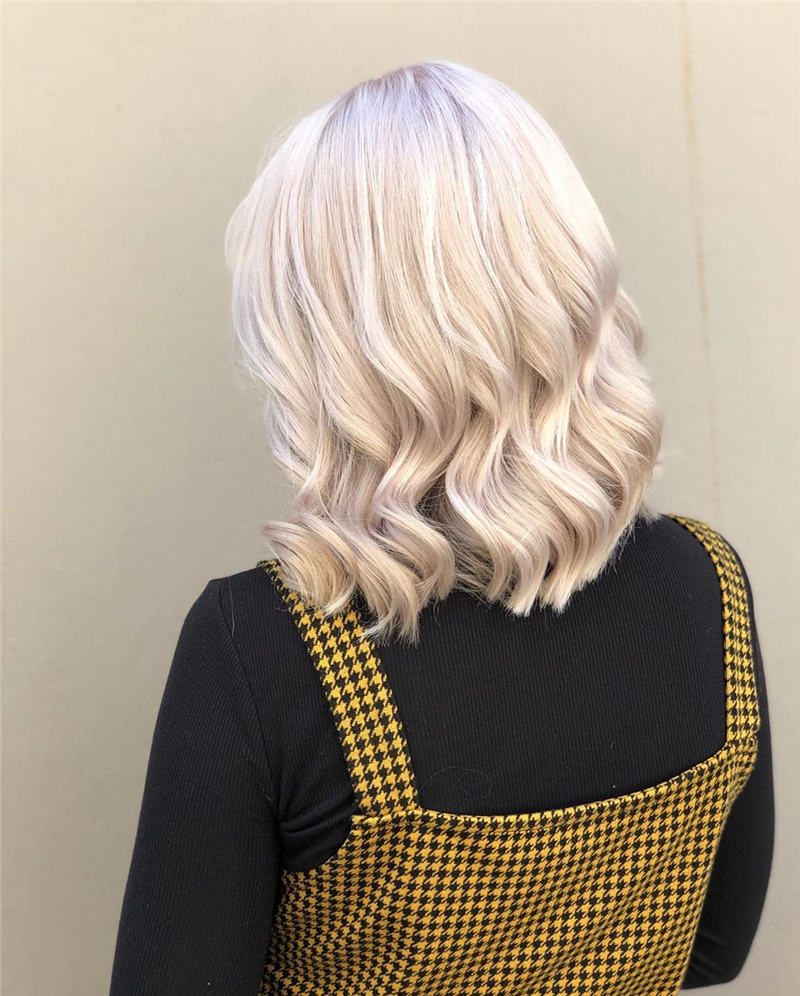 Best Short Blonde Hair Ideas That Makes You Pretty 38