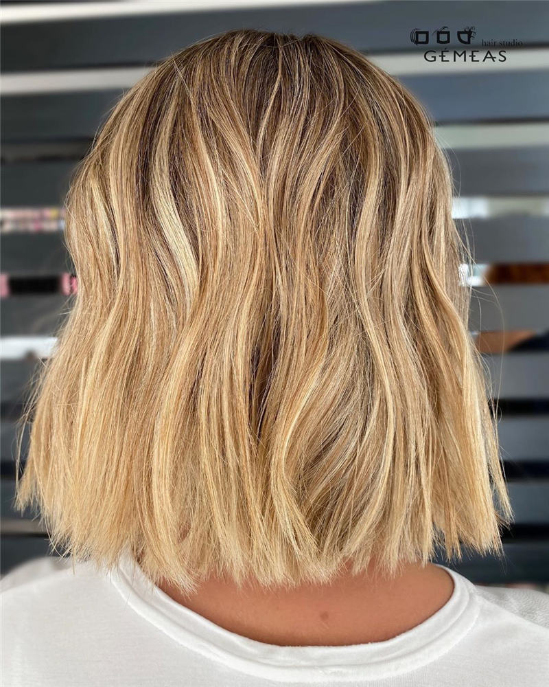 Best Short Blonde Hair Ideas That Makes You Pretty 39