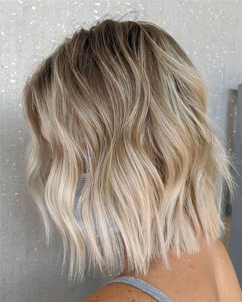 Best Short Blonde Hair Ideas That Makes You Pretty 41