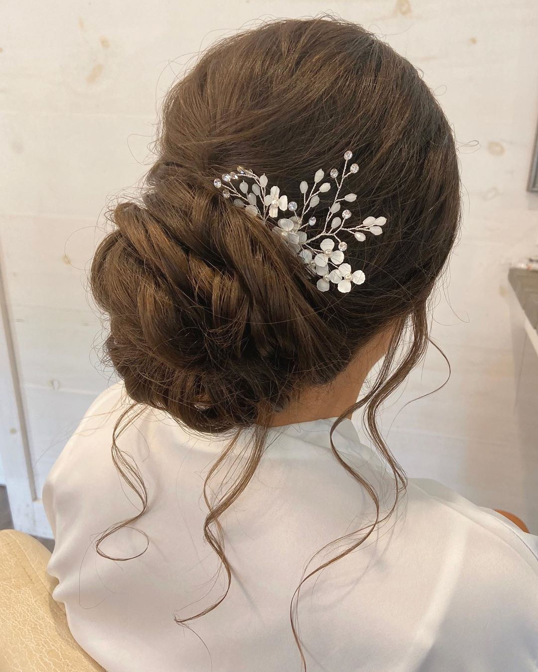New Wedding Updo Ideas for Your Trendy Looks 08