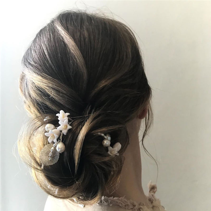 New Wedding Updo Ideas for Your Trendy Looks 22