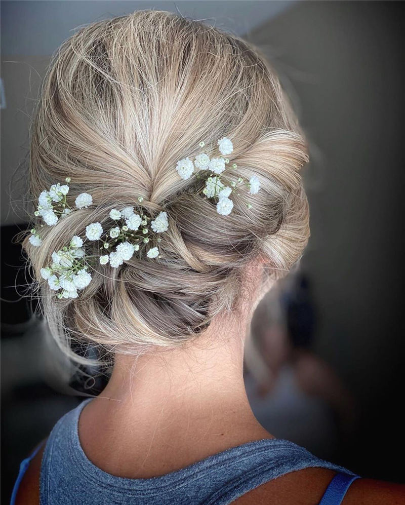 New Wedding Updo Ideas for Your Trendy Looks 23