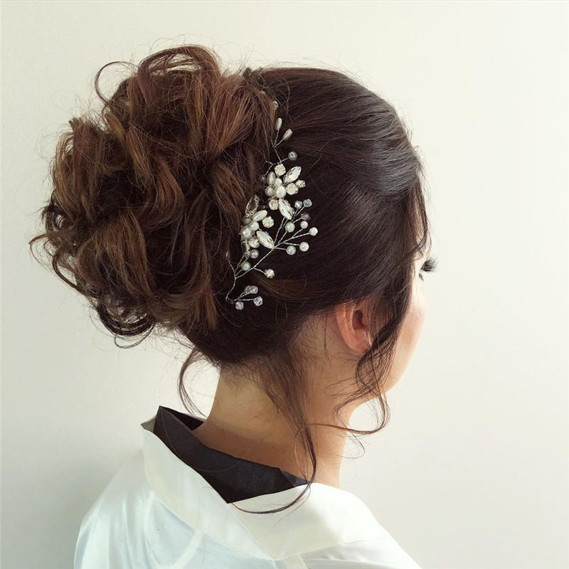 New Wedding Updo Ideas for Your Trendy Looks 25