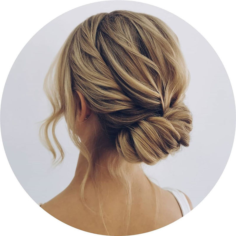 New Wedding Updo Ideas for Your Trendy Looks 27