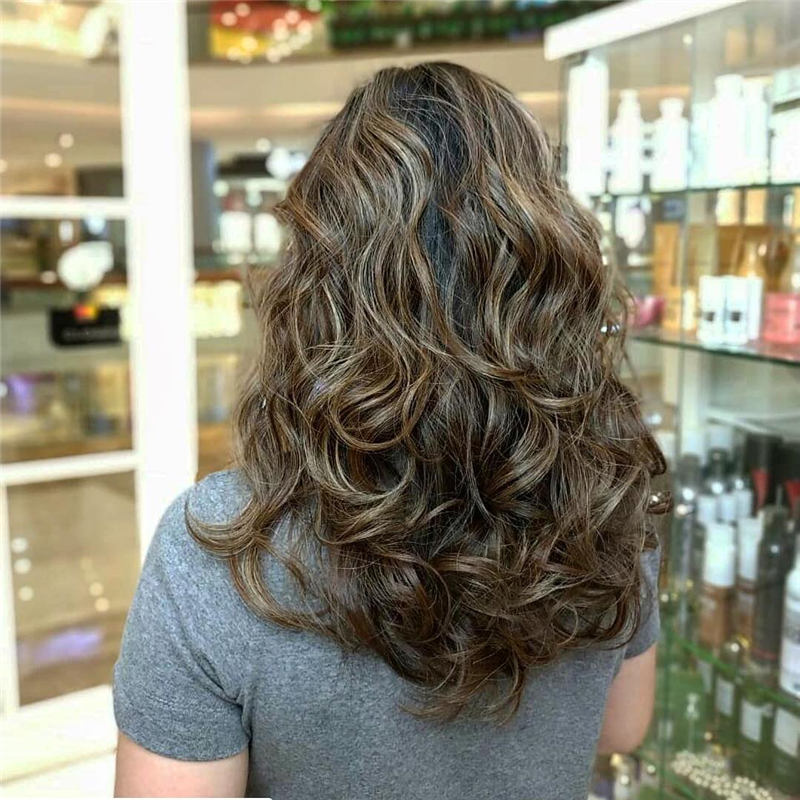Popular Ideas for Medium Length Layered Hair 28