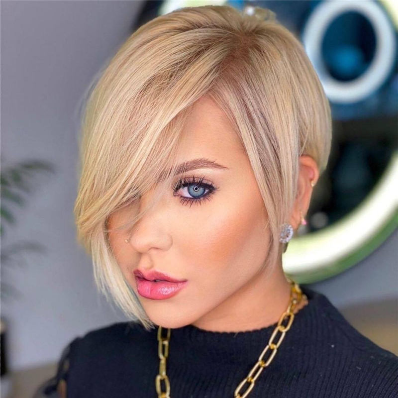 Stunning Short Haircuts for Women This Year 41