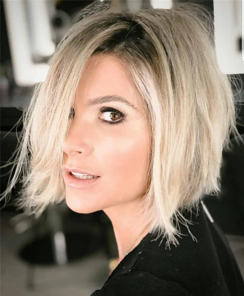 Stunning Short Haircuts for Women This Year 44