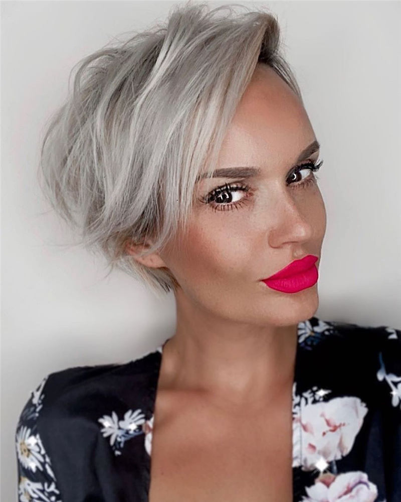 Stunning Short Haircuts for Women This Year 58
