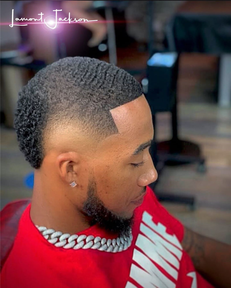 Stylish Fade Haircuts for Black Men 2021 12