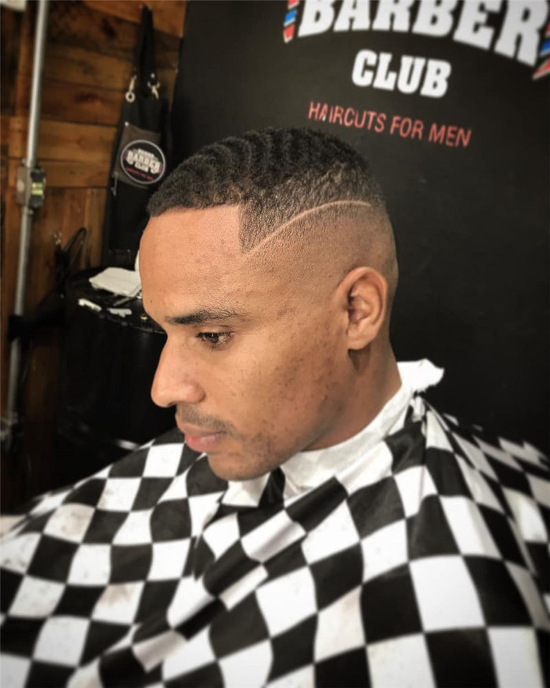 Stylish Fade Haircuts for Black Men 2021 19