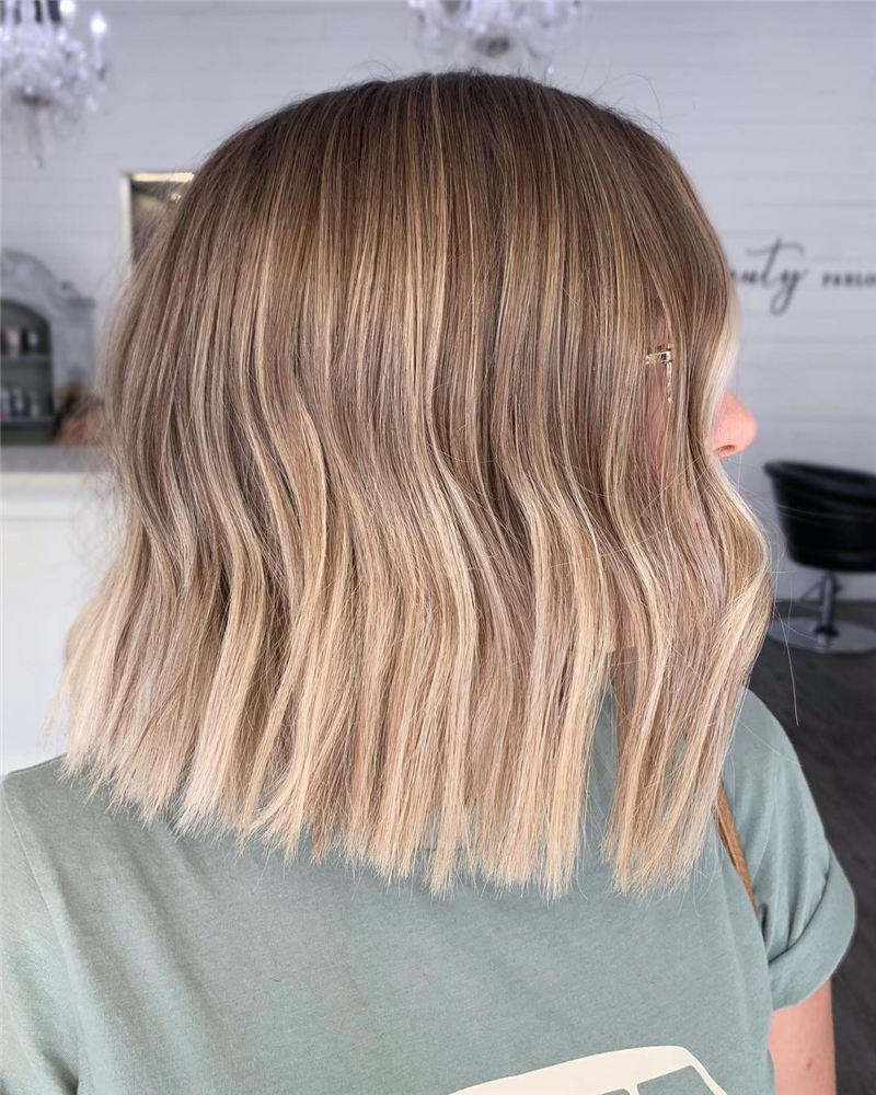 Amazing Blunt Bob Hairstyles Youd Love to Try in 2021 04