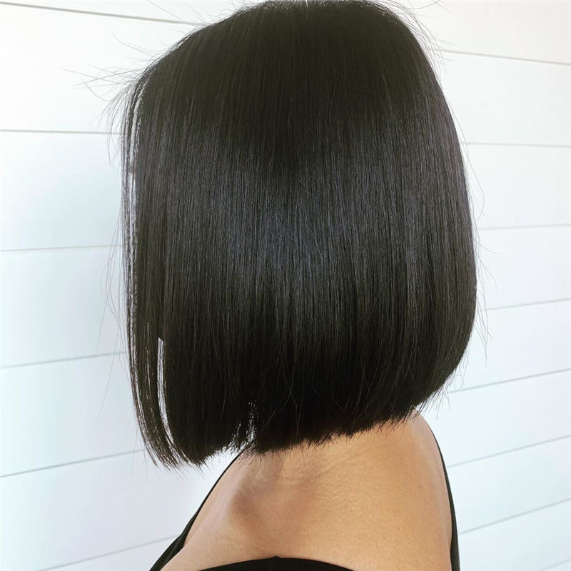 Amazing Blunt Bob Hairstyles Youd Love to Try in 2021 05