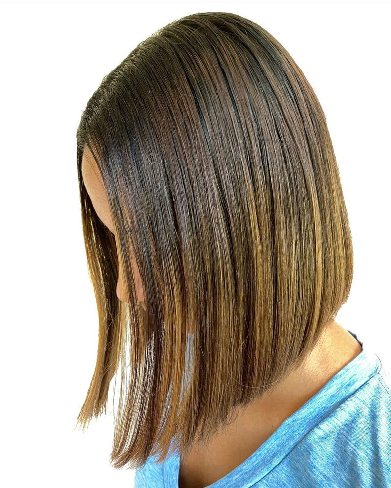 Amazing Blunt Bob Hairstyles Youd Love to Try in 2021 06