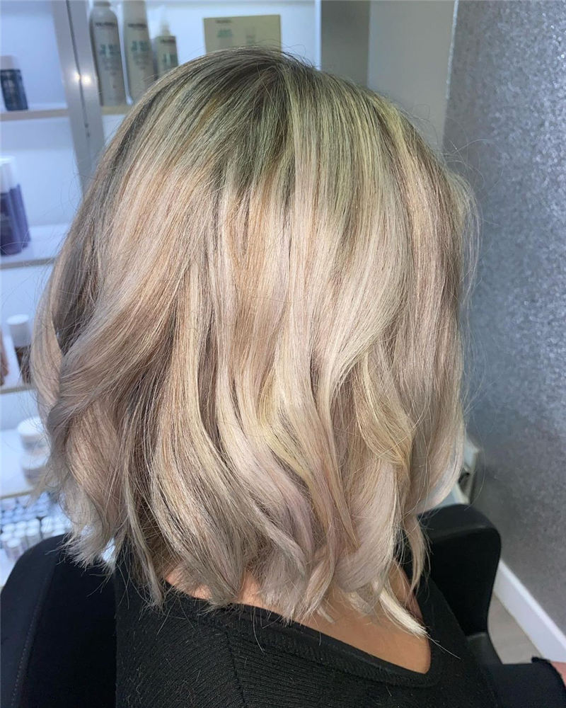 Amazing Blunt Bob Hairstyles Youd Love to Try in 2021 07