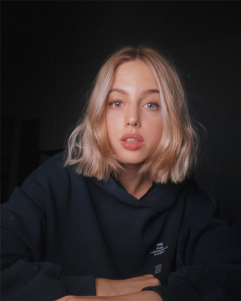 Amazing Blunt Bob Hairstyles Youd Love to Try in 2021 08