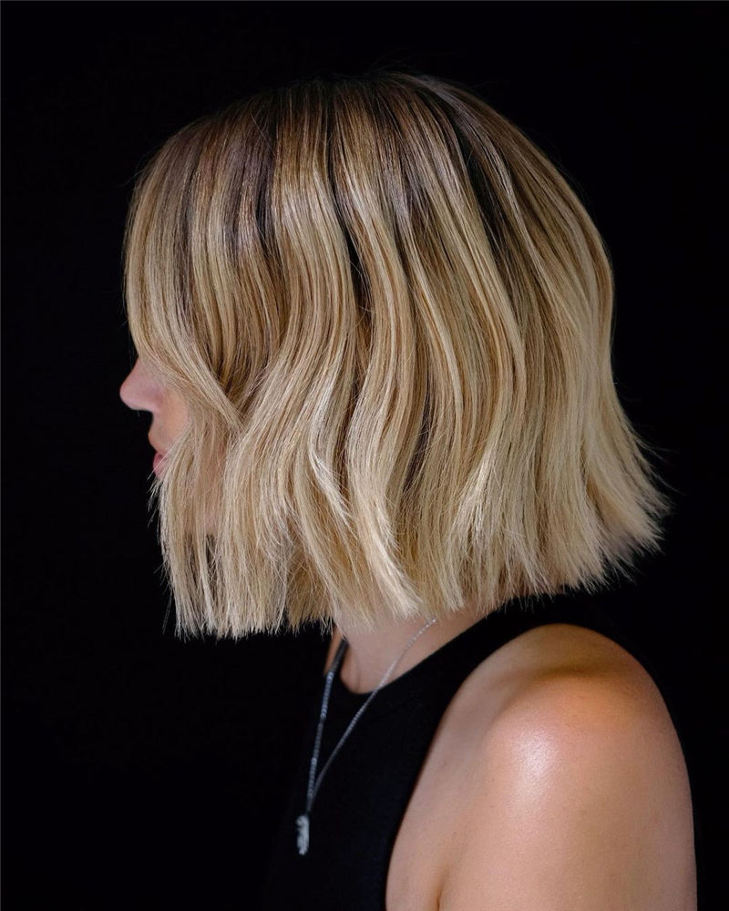 Amazing Blunt Bob Hairstyles Youd Love to Try in 2021 10