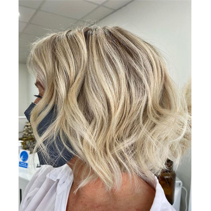 Amazing Blunt Bob Hairstyles Youd Love to Try in 2021 13