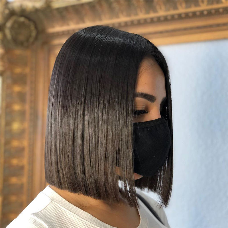 Amazing Blunt Bob Hairstyles You'd Love To Try In 2021