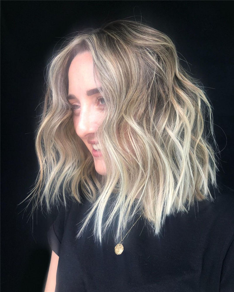 Amazing Blunt Bob Hairstyles Youd Love to Try in 2021 18