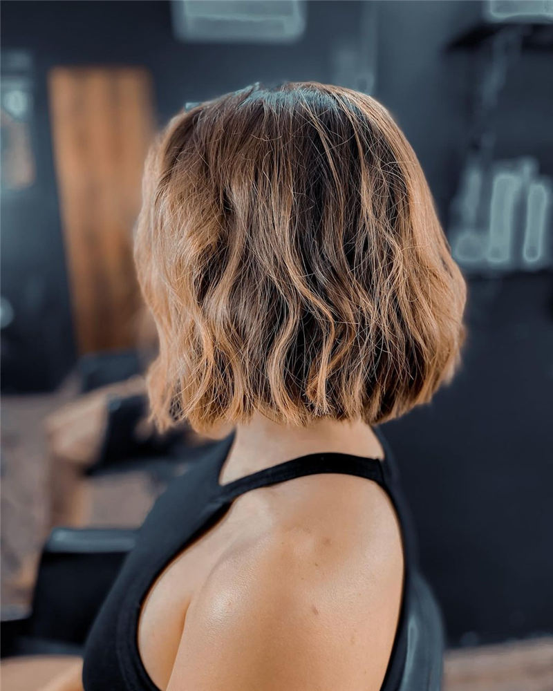 Amazing Blunt Bob Hairstyles Youd Love to Try in 2021 19