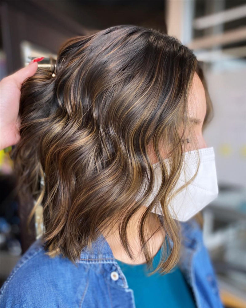 Amazing Blunt Bob Hairstyles Youd Love to Try in 2021 20