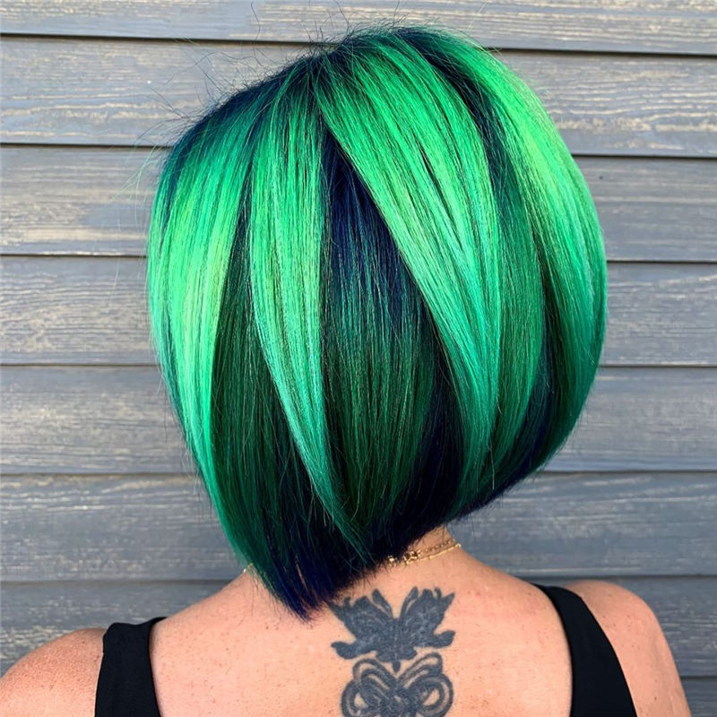 Amazing Blunt Bob Hairstyles Youd Love to Try in 2021 21