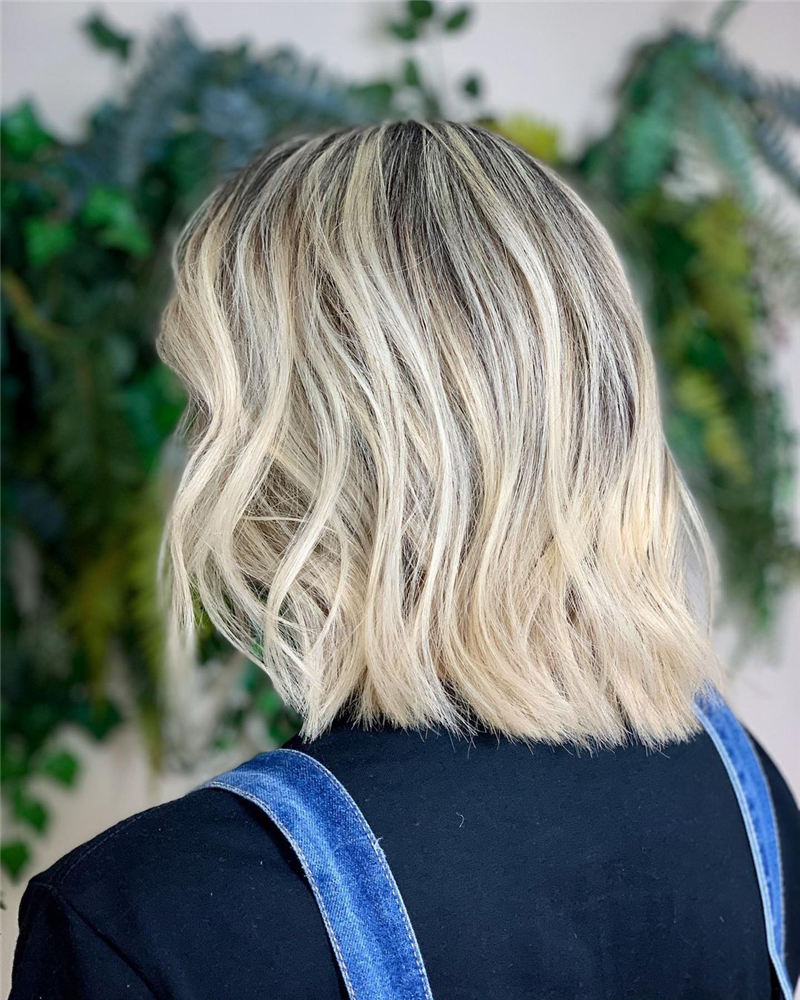 Amazing Blunt Bob Hairstyles Youd Love to Try in 2021 25