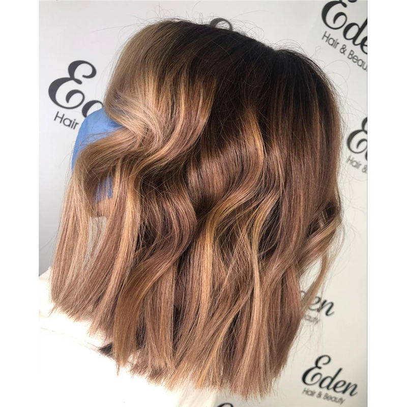 Amazing Blunt Bob Hairstyles Youd Love to Try in 2021 29