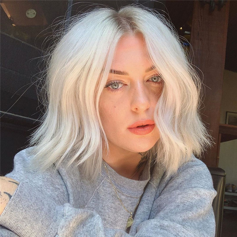 Amazing Blunt Bob Hairstyles Youd Love to Try in 2021 30
