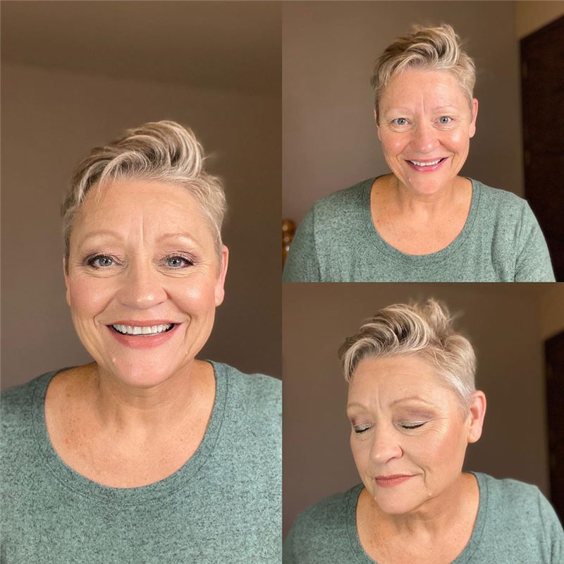 Amazing Fall Hair Colors for Women Over 50 in 2020 10