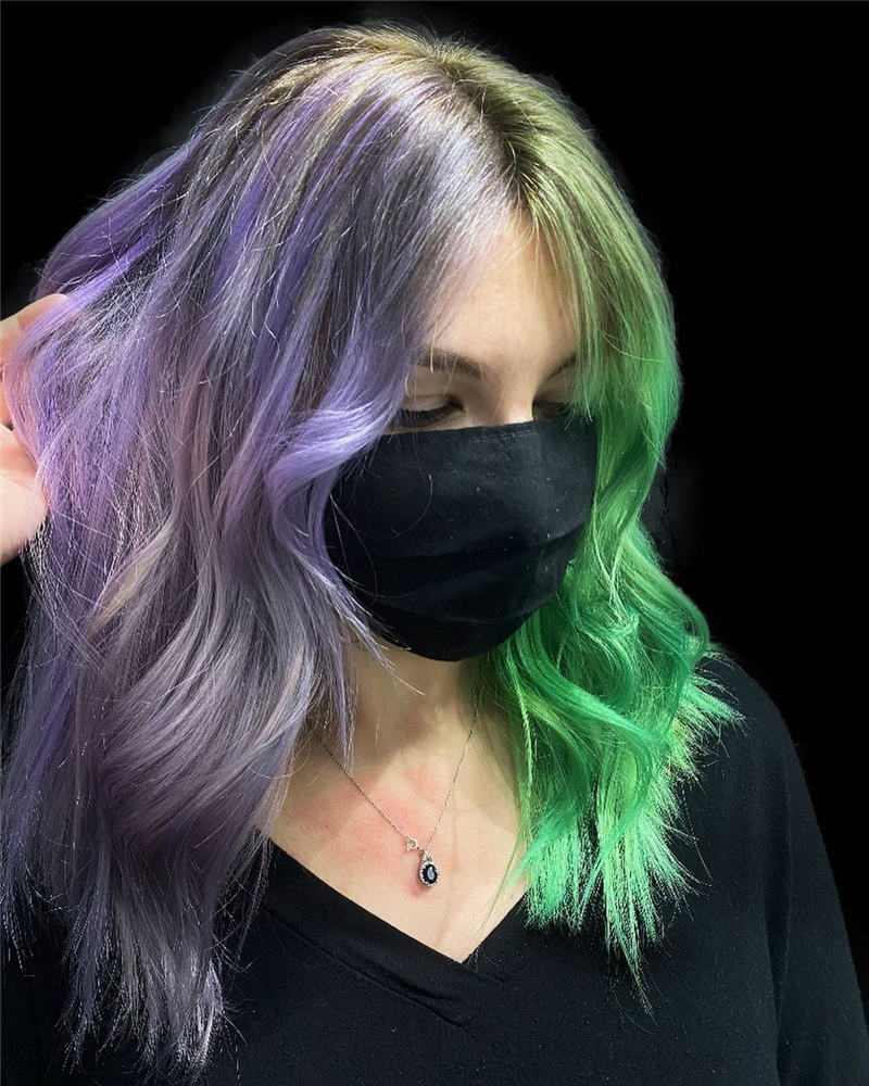 Gorgeous Halloween Hairstyles For Women in This Fall 02