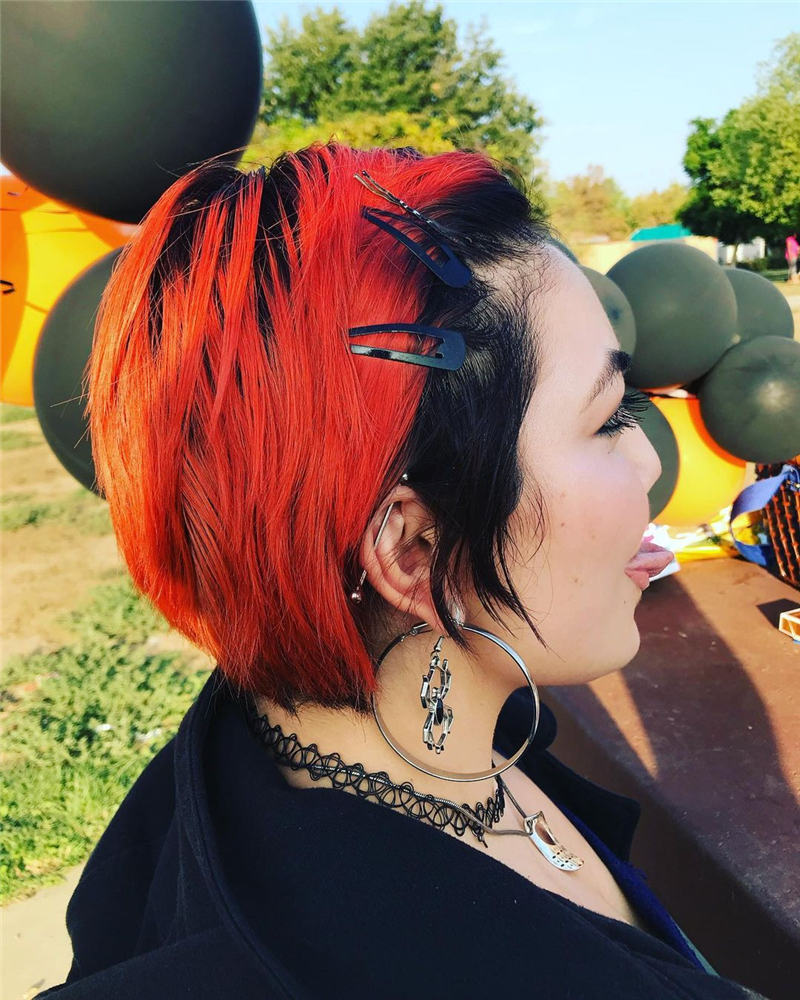Gorgeous Halloween Hairstyles For Women in This Fall 04