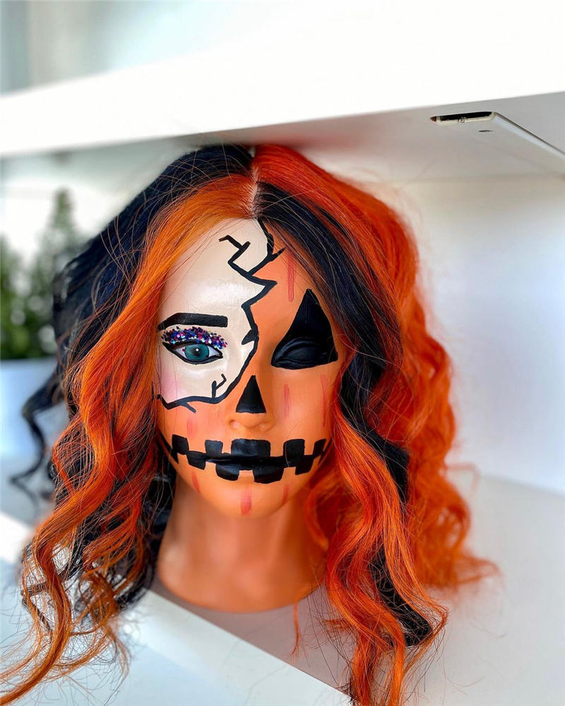 Gorgeous Halloween Hairstyles For Women in This Fall 05
