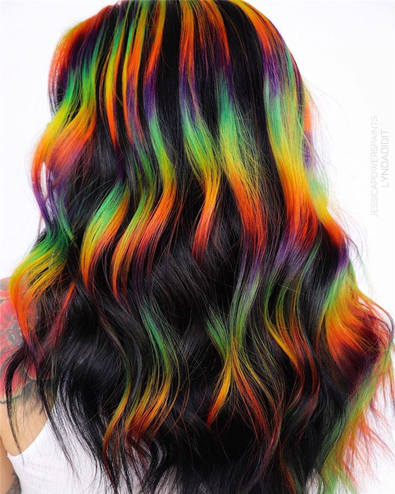 Gorgeous Halloween Hairstyles For Women in This Fall 10