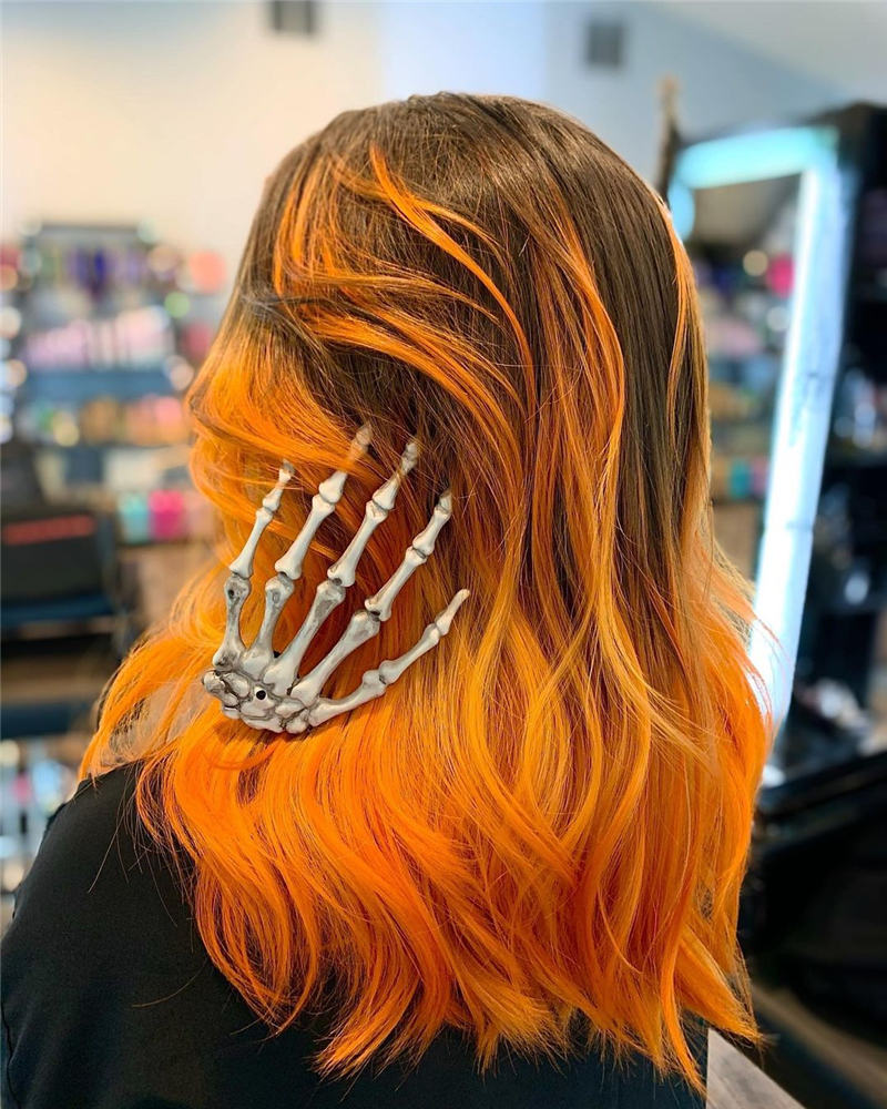 Gorgeous Halloween Hairstyles For Women in This Fall 11