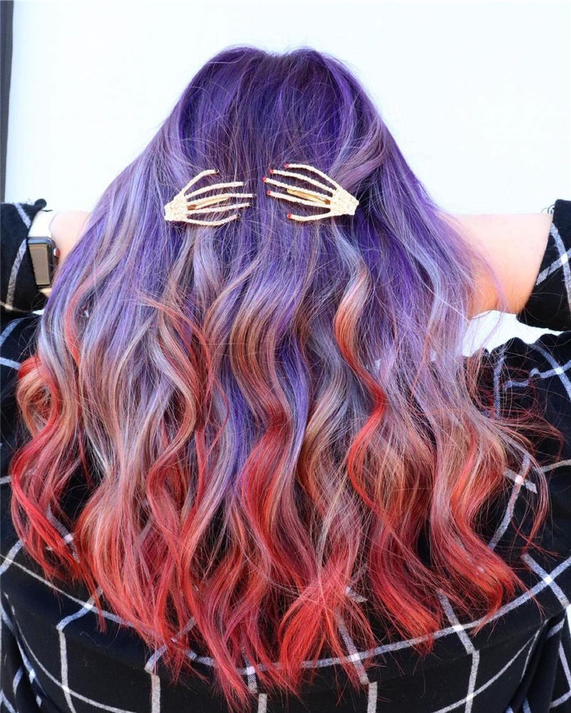 Gorgeous Halloween Hairstyles For Women in This Fall 28