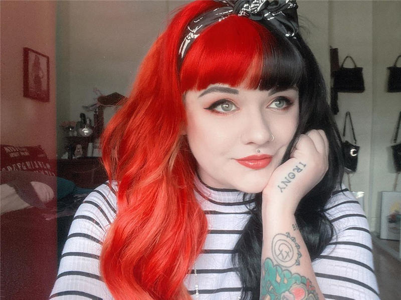 Gorgeous Halloween Hairstyles For Women in This Fall 31