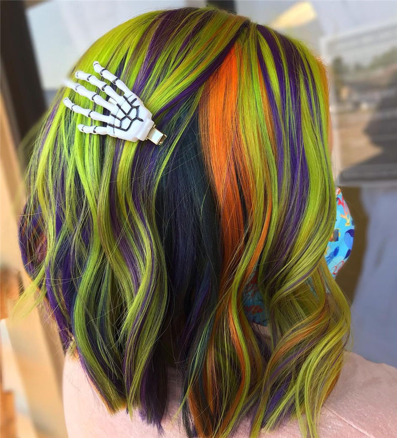 Gorgeous Halloween Hairstyles For Women in This Fall 38