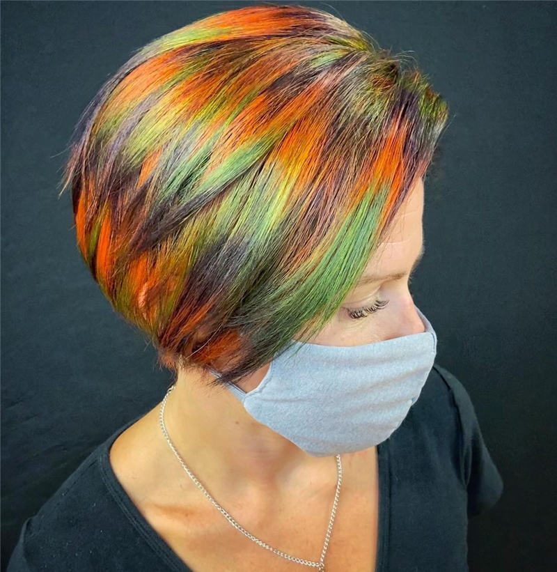 Gorgeous Halloween Hairstyles For Women in This Fall 44