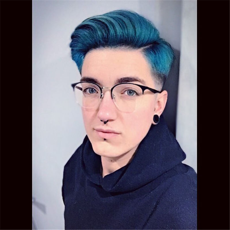 Short Blue Haircuts That Will Trend in 2021 21