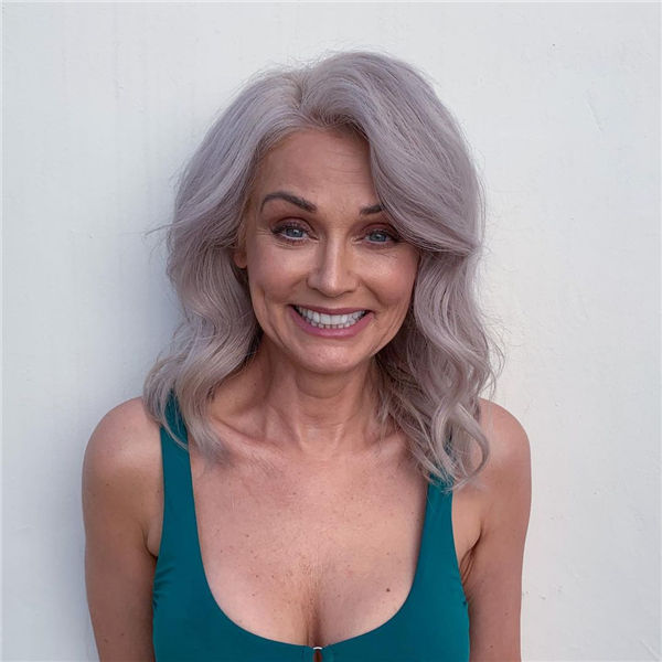 Silver Hair for Over 50 Women