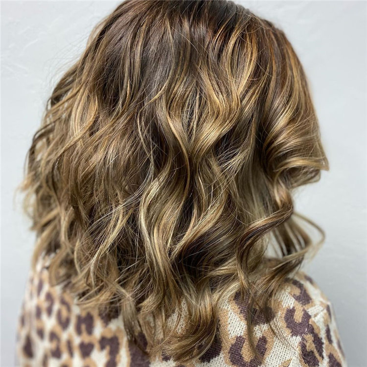 Beachy Waves with Babylights Balayage