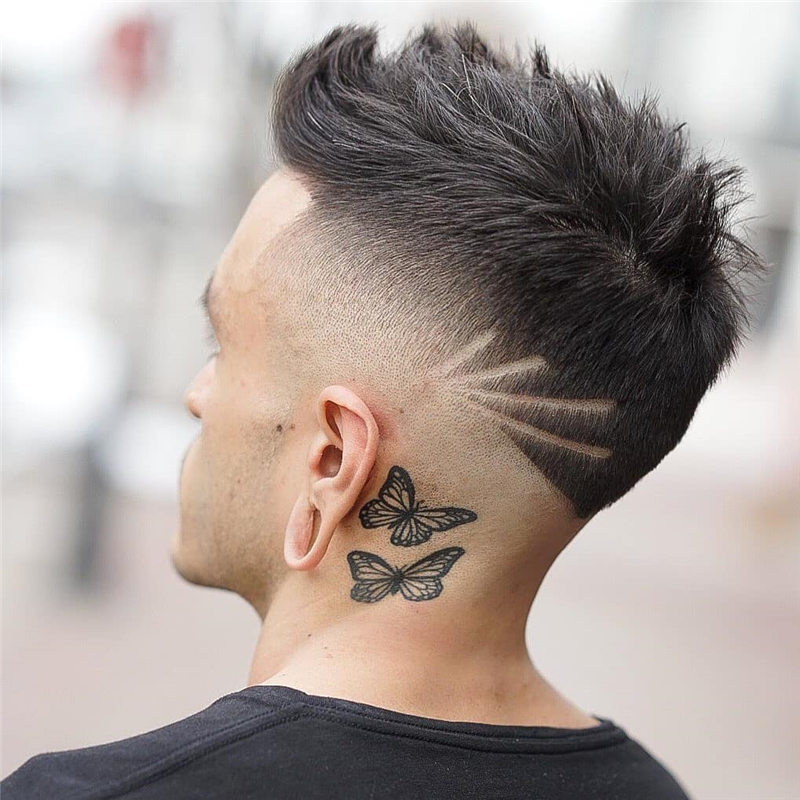 Coolest Short Haircuts for Men Most Popular Styles for 2021 39