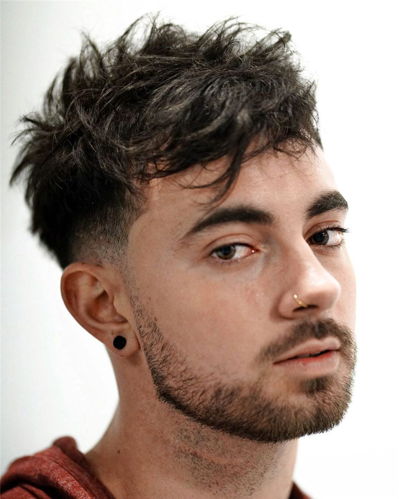 Coolest Short Haircuts for Men Most Popular Styles for 2021 44
