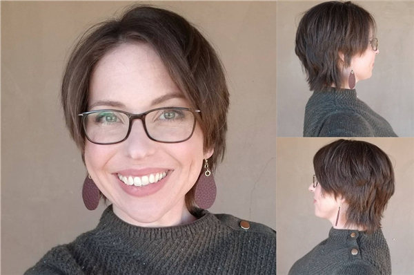 Curly Pixie for Over 40 Beauty