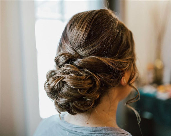 Perfect Low Updo