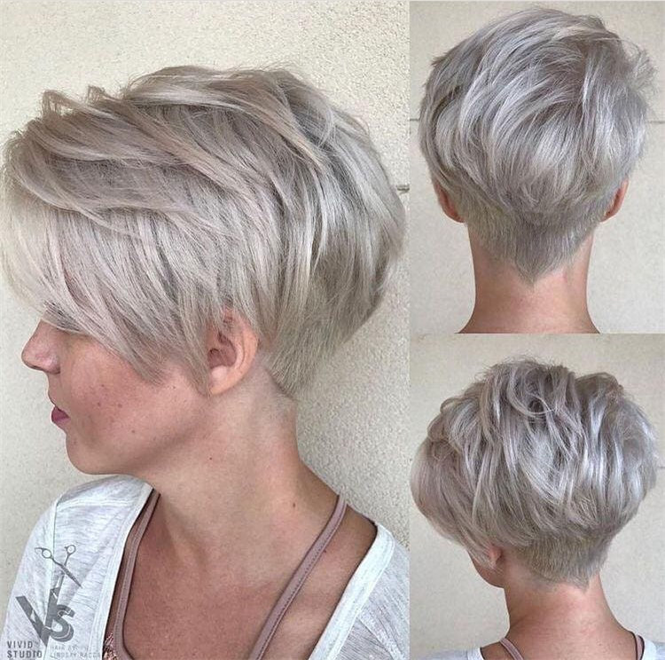 Blonde Pixie Cuts