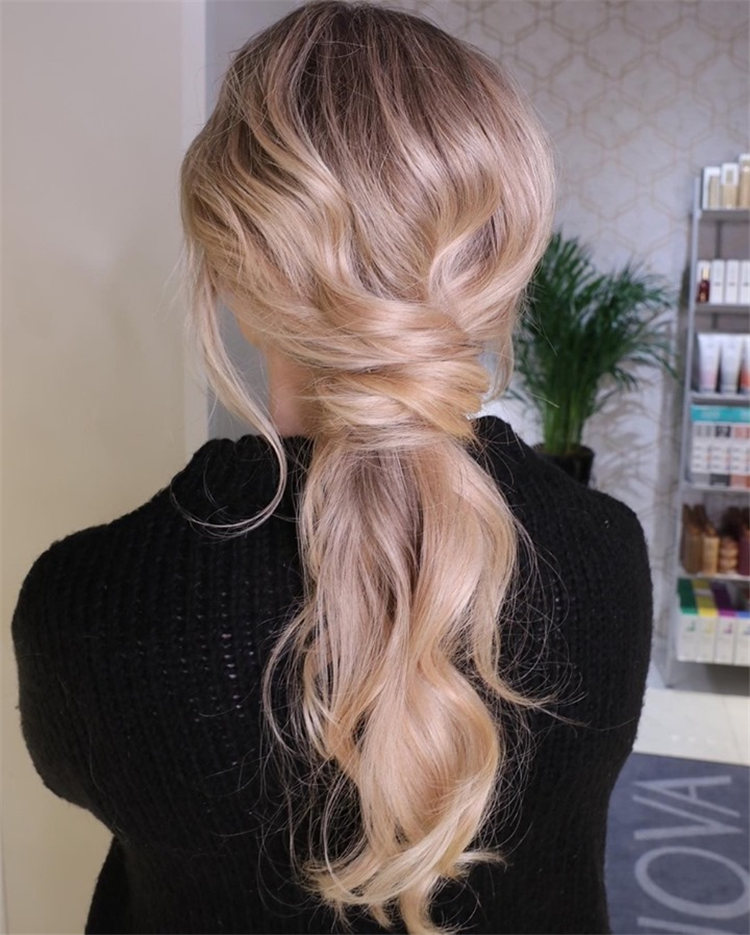 Casual Beauty Ponytail