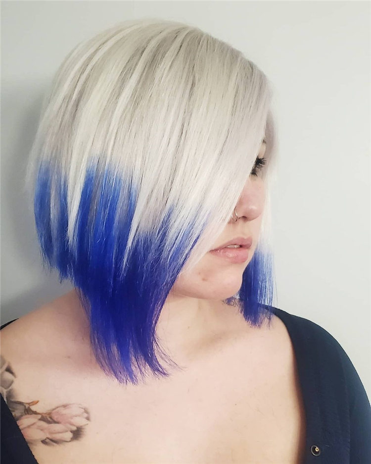 Icy blonde with Custom Dyed and Toned1