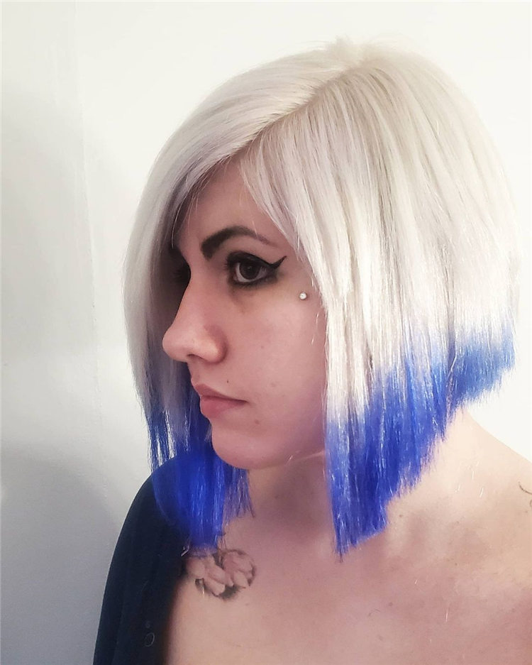 Icy blonde with Custom Dyed and Toned2